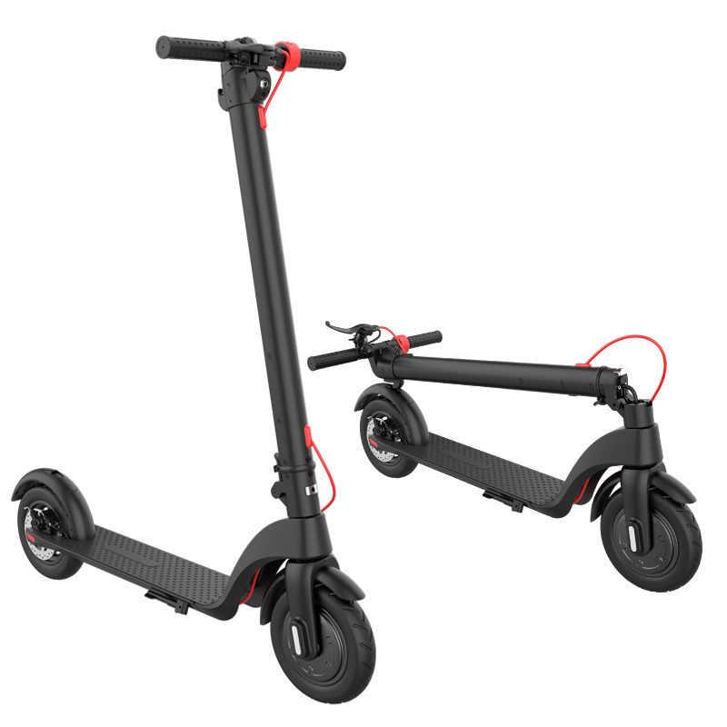 2 ruota Urbano Scooter Elettrico 350W Potente E Intelligente E di Scooter, Skateboard Mini Pieghevole Hoverboard Longboard Per Adulti 25km