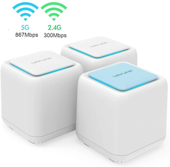 Wavlink Original AC1200 Gigabit Wireless Wifi Router Whole Home Mesh WiFi Systemwifi Repeater 2.4G/5Ghz Wifi Router 1200Mbps totolink t10 whole home mesh network wireless ac1200 dual band office wi fi router high speed mesh system wireless wifi repeater