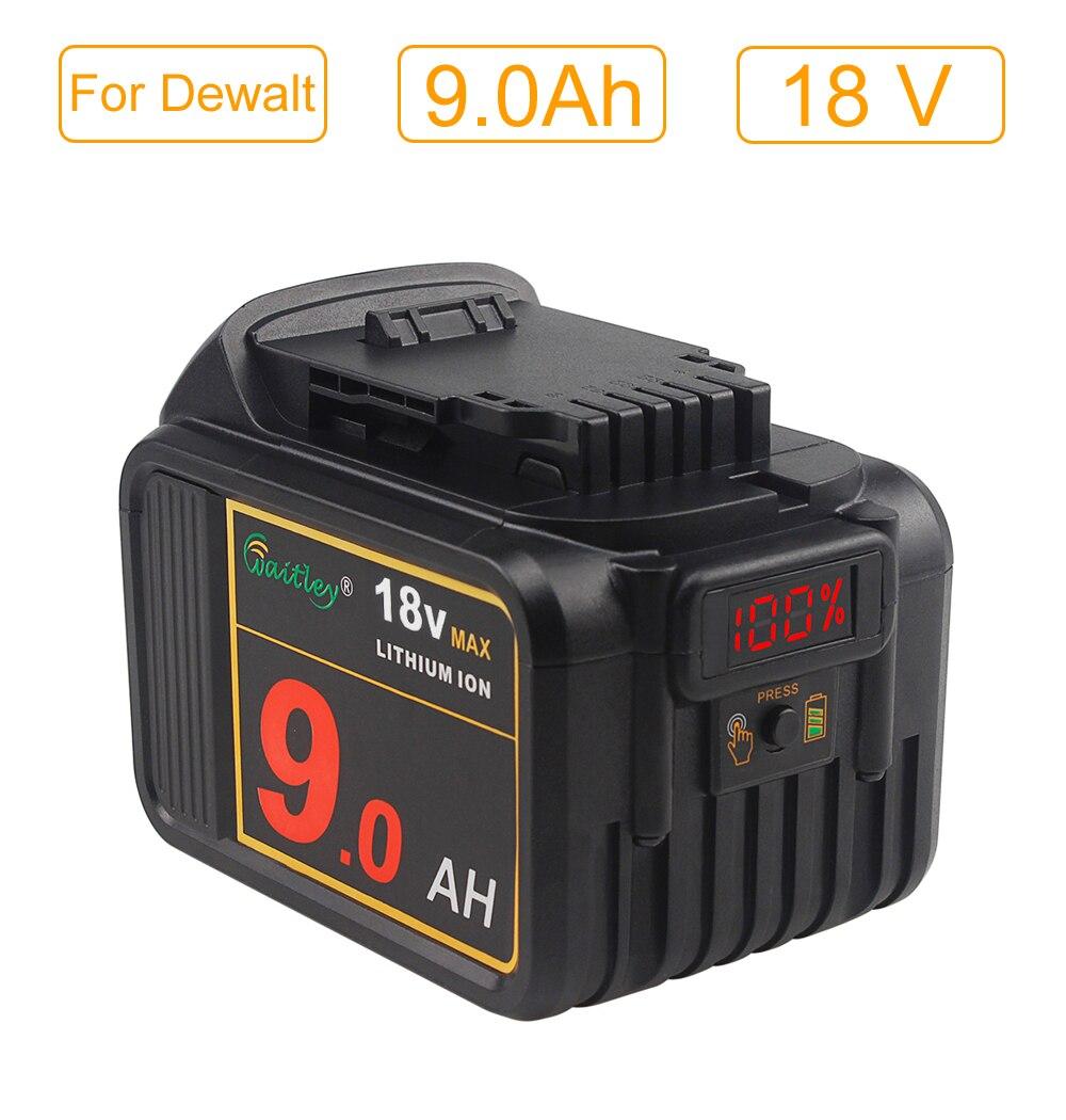 20V 20 Volt Max XR 6.0AH Li-Ion Battery For DeWalt DCB200 DCB182 DCB181 DCF885C2