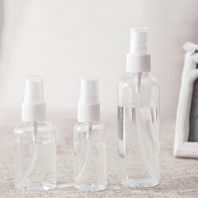 1 PCS Nachfüllbare Flasche 30ml 50ml 100 Ml Reise Transparente Kunststoff Parfüm Zerstäuber Kleine MIni Leere Spray Zufällig farbe