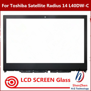 Touch Screen Digitizer Glass For Toshiba Satellite Radius 14 L40DW-C005 L40DW-C006 L40W-C009 L40W-C1697 E45W-C4200X E45W-C4200 фото