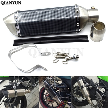 Free Shipping Universal Motorcycle Modified Scooter Exhaust Muffle pipe For MV Agusta Brutale 910R 989R 920 990 1078RR 1090 750S