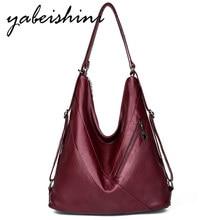 New women leather bag luxury handbags women bags designer women crossbody bags lady Tote over shoulder bag sac main bolso mujer недорого