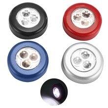 Đèn LED Ban Đêm Đèn Tủ Cảm Ứng Bếp Phòng Ngủ Tủ Đèn Không Dây Pasteable Hành Lang Cầu Thang Đèn Ngủ