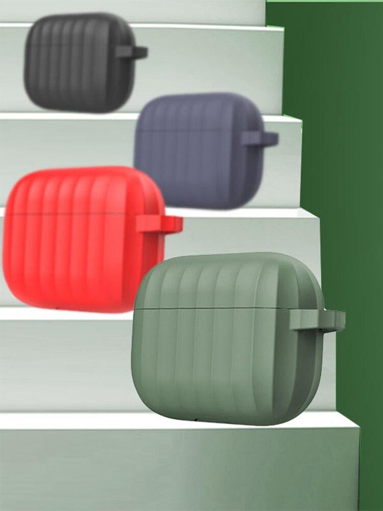 Для airpods pro гарнитура мягкий силиконовый защитный чехол