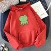 Women Hoodies Harajuku Long Sleeve sweatshirt women Cute Animal Frog Printed Hoodie Pocket Casual Pullover Loosen Tops gdragon 1