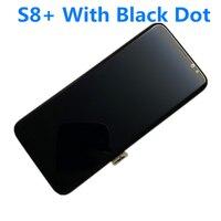 100% original amoled lcd para samsung galaxy display s8 + mais g955 g955f digitador da tela de toque