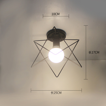 Ceiling light ceiling lamp iron living room lights modern deco salon for dining room hanging led light fixtures surface mounted 20