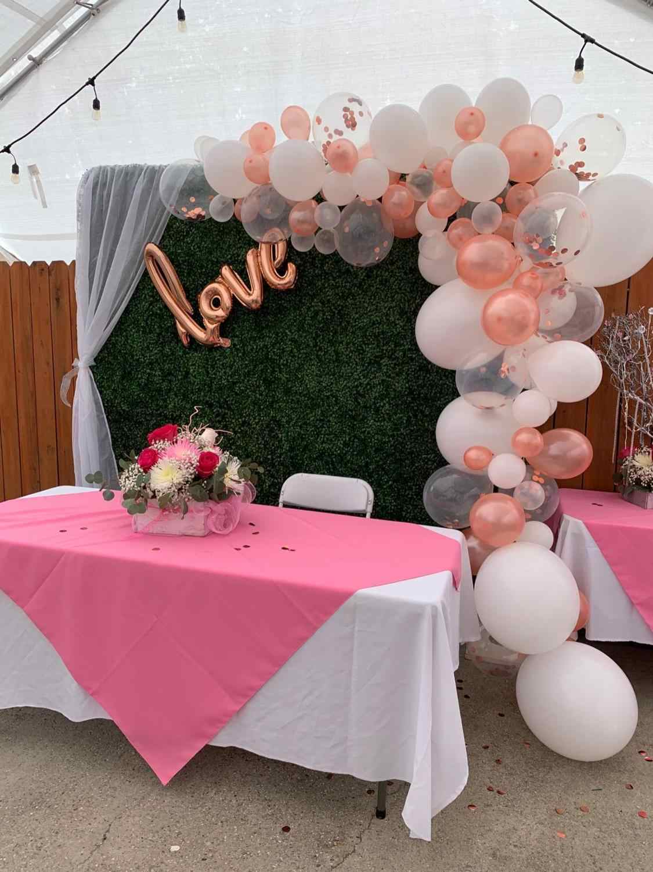 Rose Emas Balon Arch Garland Kit Clear Premium Balon Lateks Pengantin Pernikahan Ulang Tahun Baby Shower Bujangan Dekorasi Pesta