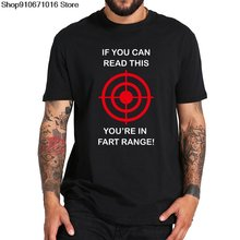 Забавная Необычная футболка с надписью «if you read this is