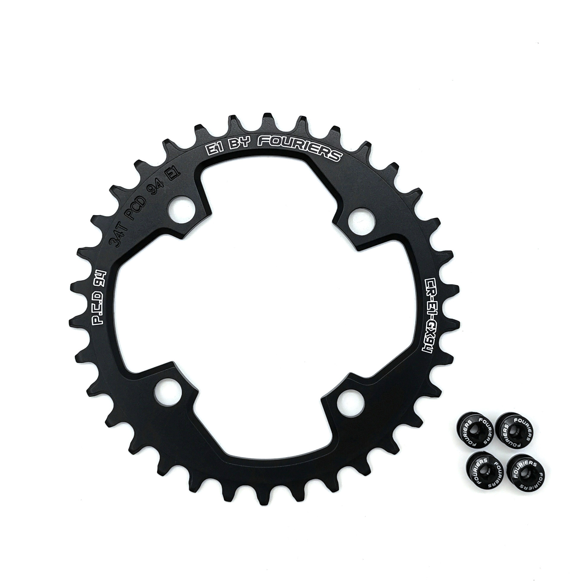 Fouriers BCD94 Mountain Bike Chainring Circle Narrow Wide <font><b>32T</b></font> 34T 36T 38T 40T For Sram GX94 Crank 1x System image