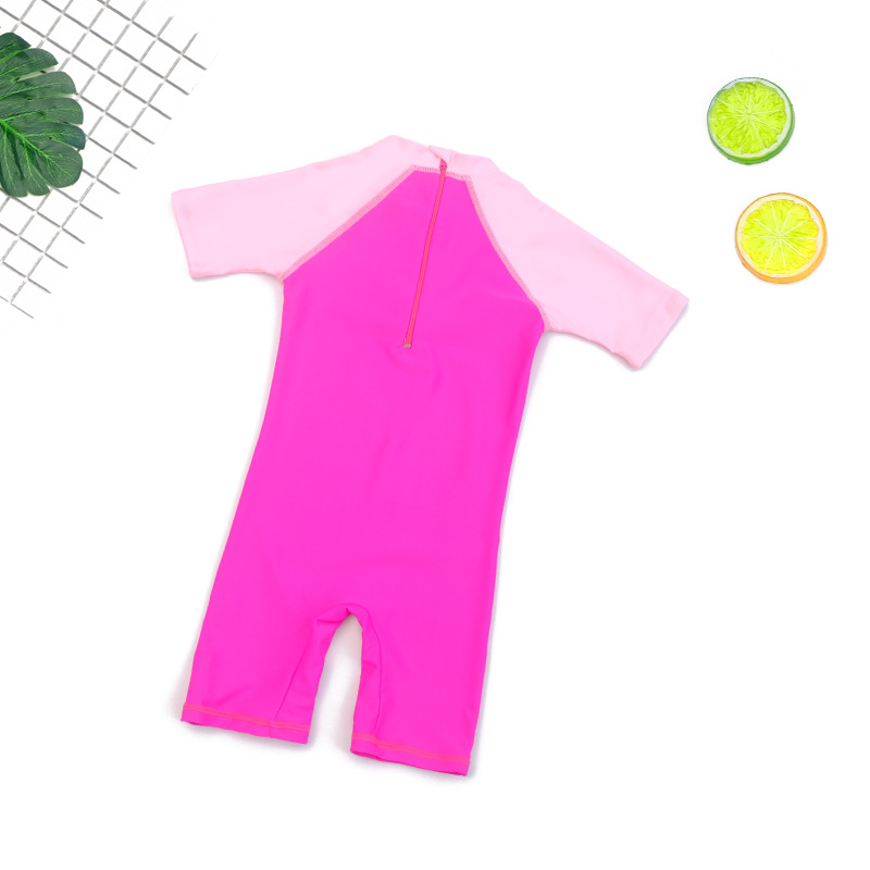 KID'S Swimwear Men And Women Children One-piece Baby Big Boy Students GIRL'S Boy Small CHILDREN'S Teenager Students Tour Bathing