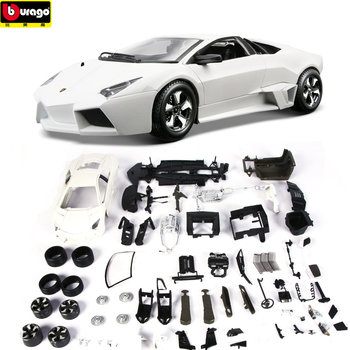 Bbruago 1:24 7 styles Lamborghini sports car model assembled alloy model collection gift