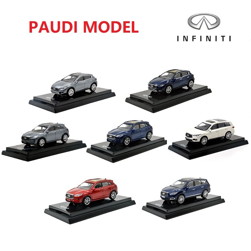 1:64 Model Car Nissan Infiniti SUV QX50 2018 QX30 2017 QX60 2017 Q60 2017 Die-cast Cars