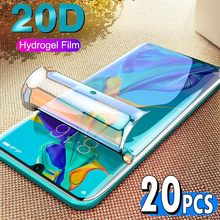20Pcs 3D Soft Pet Film Voor Samsung Galaxy S20 Ultra S10 S10E Lite S9 S8 Plus Note 10 Pro 9 8 Screen Protector Niet Gehard Glas(China)