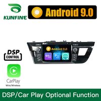 Android 9.0 Octa Core 4GB RAM 64GB ROM Car DVD GPS Navigation Multimedia Player Car Stereo for Toyota LEVIN 2014 2015 Radio