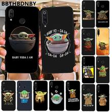 For xiaomi redmi note 8 pro Cute Baby Yoda Silicone Colorful Cute Phone Case for Xiaomi 8 9 se Redmi 6 6pro 6A 4X 7 note 5 7(China)