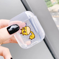 protective tpu Cute Case For Apple AirPods Case Cartoon Bluetooth Earphone Protective Soft TPU Cover For Airpods 1 2  case box For Air pods 2 1 (3)