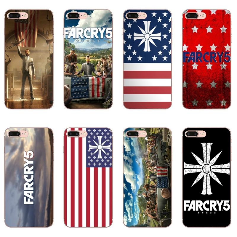 Far Cry 5 Game Case For Iphone 11 Pro Xs Max Xr X 8 7 6 6s Plus 5 5s Se Silicone Soft Cover Case Half Wrapped Cases Aliexpress