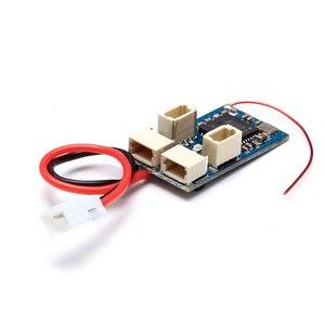 2.4g 4ch micro receptor compatível de baixa tensão para d sm2 d sm embutido esc escovado transmissor de controle remoto zangão parte