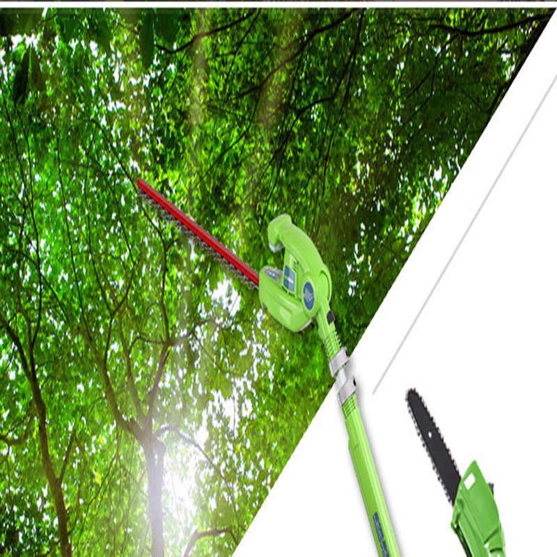 Nouvelle arrivée GreenWorks 20302 G-MAX 40V 8 pouces scie sur perche sans fil et taille-haie peigne batterie et chargeur inclus