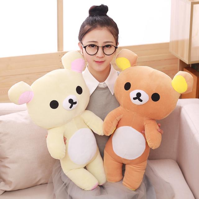 Cute Rilakkuma Cartoon Character Plush Toy Doll Kid Bear Animal Plush Animal Bear Plush Toy Couple Birthday Gift For Girlfriend