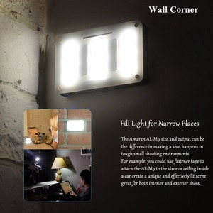 Image 5 - INSTOCK Aputure AL M9 جيب LED الفيديو الضوئي على الكاميرا إضاءة الاستوديو قابلة للشحن إضاءة صور CRI/TLCI 95 لفيلم الزفاف كانون