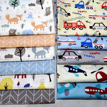 New Cotton Fabric 100% Cotton Twill Print for Sewing Home Textile Child Dress Making Woven Soft Fabric