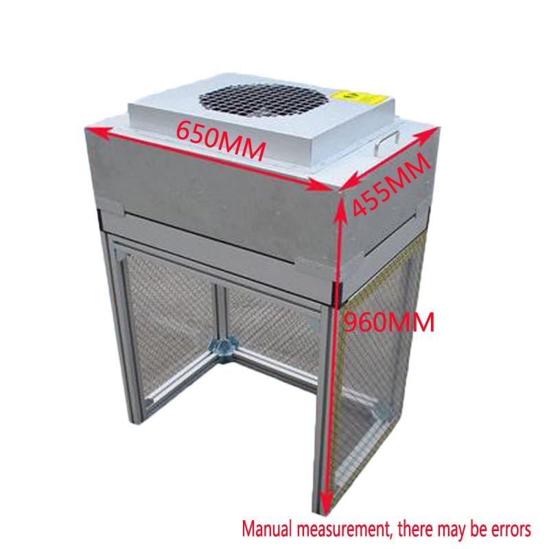 1PC Aluminum Alloydust-free Workbench Obile Phone Repair Pressure Film Film Defoamer BH006 FFU Clean Shed Clean Work Space 220V