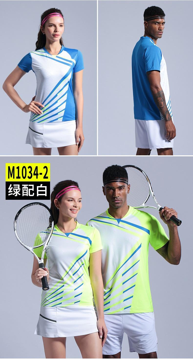 Homem camisa de tênis padel camisa badminton