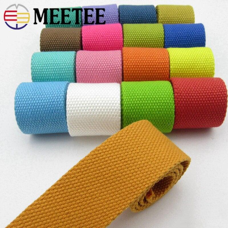 decoración cinturones Correas correas 2 patrones 40mm Cinta De Lona Algodón artesanía