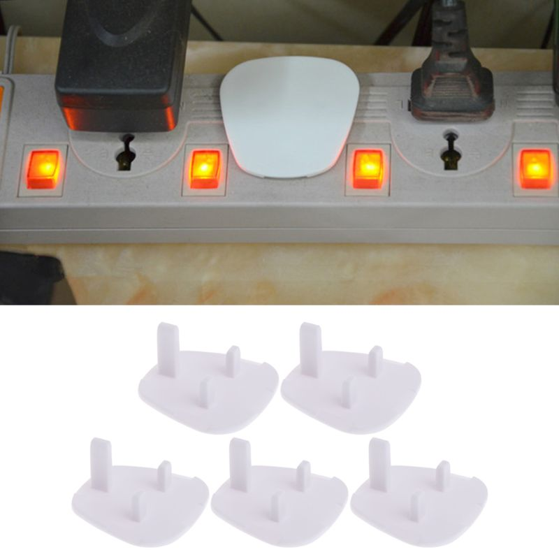 20x UK Power Plug Socket Cover Baby Proof Child Safety Protector Guard Mains Electrical P31B