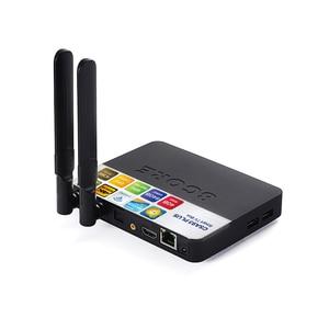 Image 4 - CSA93 プラスの Android 8.1 Tv ボックス RK3328 4 ギガバイト/64 ギガバイト RK3328 クアッドコア 5 3G WIFI の BT 4.0 4 4K テレビボックス時刻表示 USB 3.0 セットトップボックス