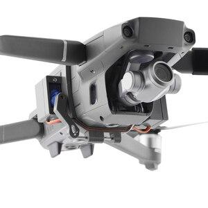 Image 4 - Système de chute dair Airdrop pour DJI Mavic 2 Pro Zoom Air 2 Drone appâts de pêche anneau de mariage cadeau livrer la vie sauvetage lancer lanceur