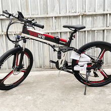 Electric Bike 48V 12.5Ah Built-In Lithium Battery 26inch Electric Bicycle Foldin