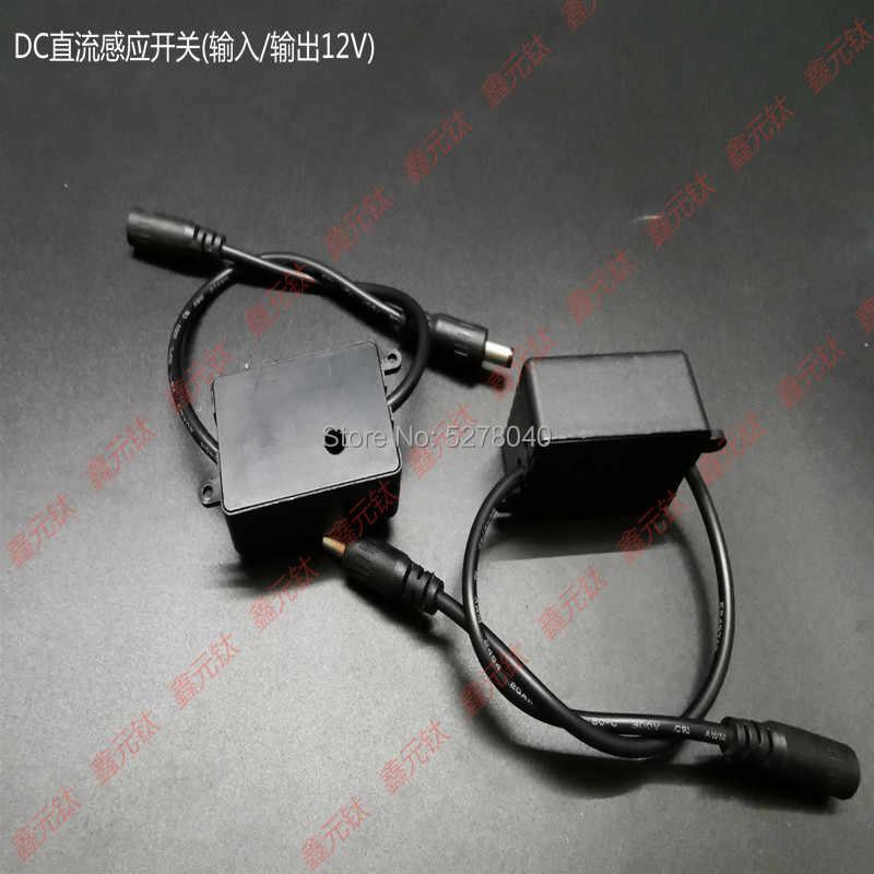 Индукционный переключатель светодиодный инфракрасный датчик для человека DC12V Высокочувствительный переключатель задержки времени