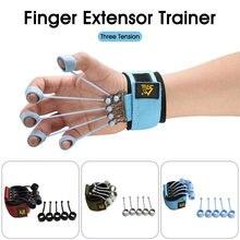 Dedo pinça força trainer mão yoga resistência banda dedo flexion e extensão dispositivo de treinamento dedo força aperto dispositivo