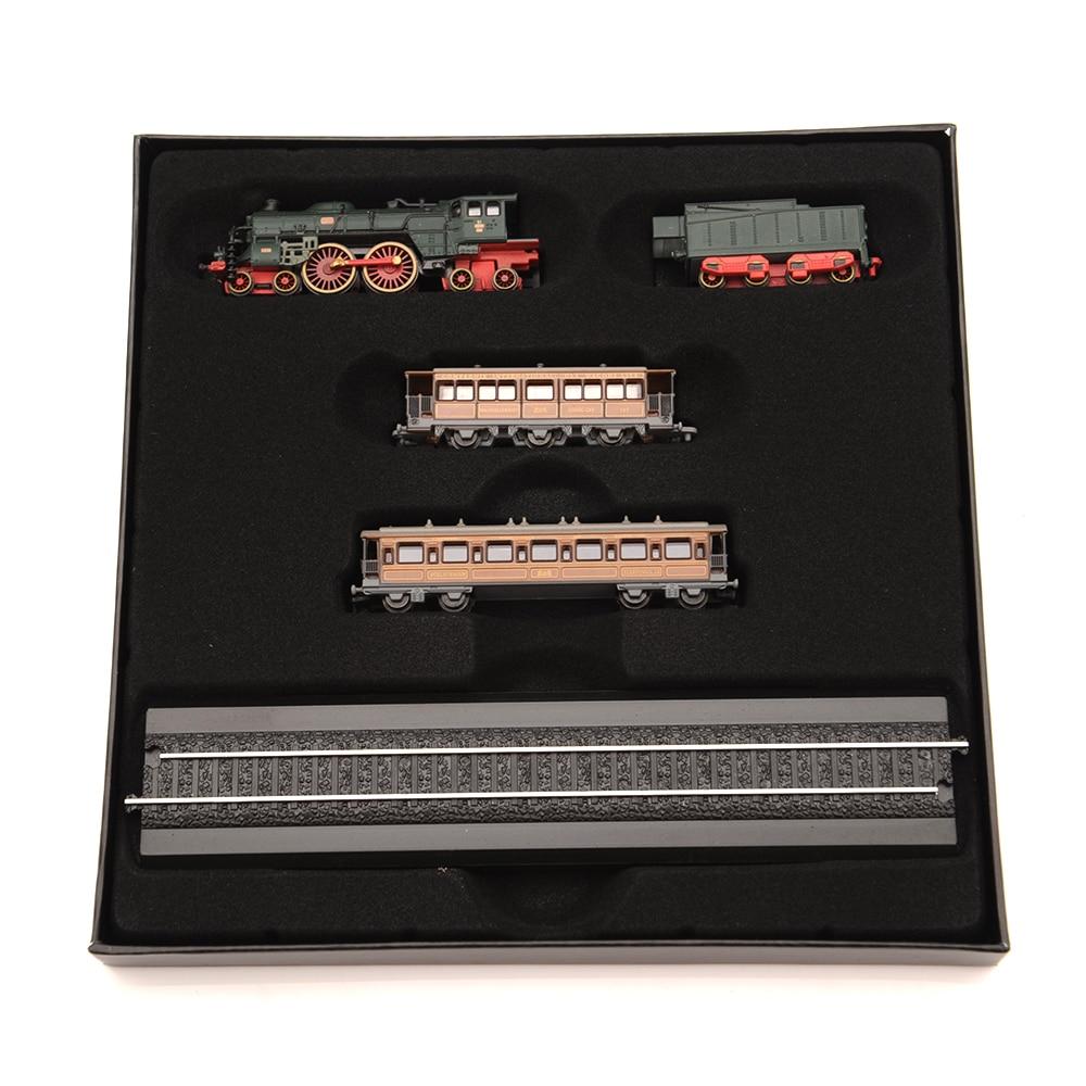 Atlas 1/220 Scale Minitrains Diecase Orient-Express Mini Track Steam Train Model Toy