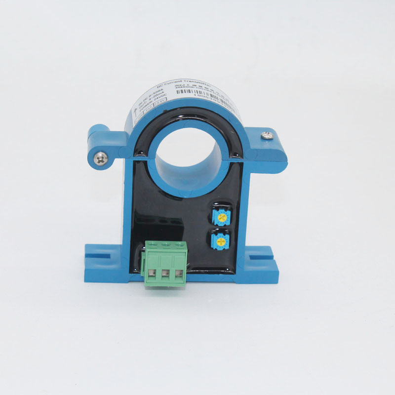 <font><b>DC</b></font> <font><b>100A</b></font>,200A,500A,800A <font><b>DC</b></font> current transmitter Clamp CT retractable current converter 4-20mA <font><b>DC</b></font> split core <font><b>DC</b></font> ampere transmitter image
