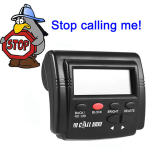 Image 5 - Pro Call Blocker Caller ID Blocker Stop Nuisance Calls FSK/DTMF Dual System Switchable Blacklists Automatic Recognization