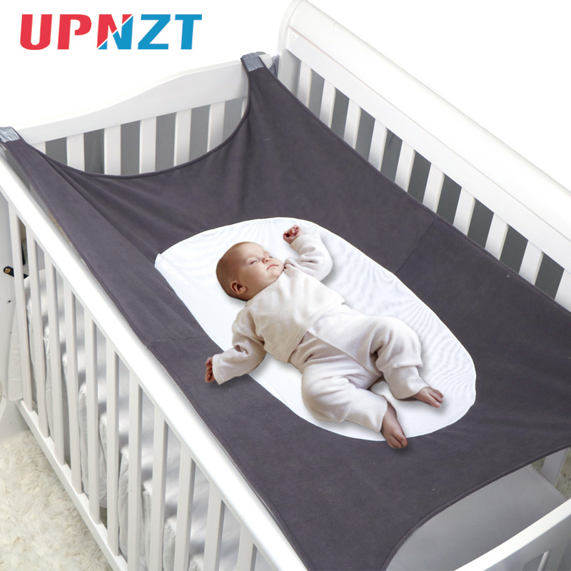 Baby Swings Infant Hammock Baby Detachable Protable Folding Crib Sleeping Bed Outdoor Garden Travel Swing 5 Colors 104CM*76CM