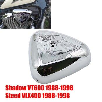 Filtr powietrza motocykla osłona filtra Cap Protector dla HONDA STEED 400 600 VLX VLX400 VLX600 powłoka ochronna 1988 - 1998 1989