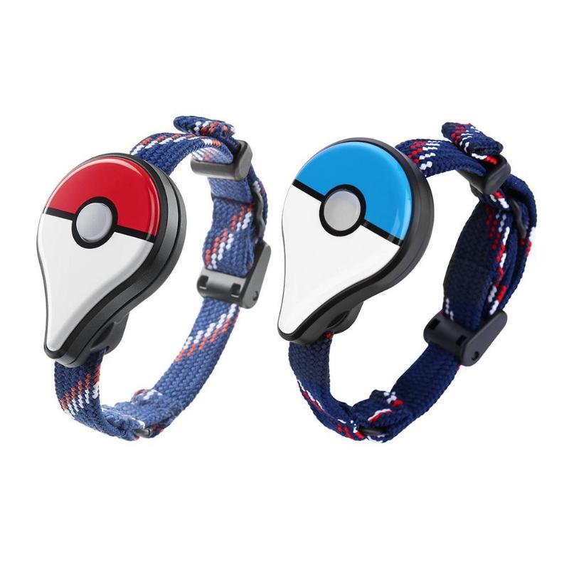 1/2pcs Games Bluetooth Auto Remind Wristband For Nintendo Pokemon Go Plus Smart Watch Interactive Figure Toys With USB Charging