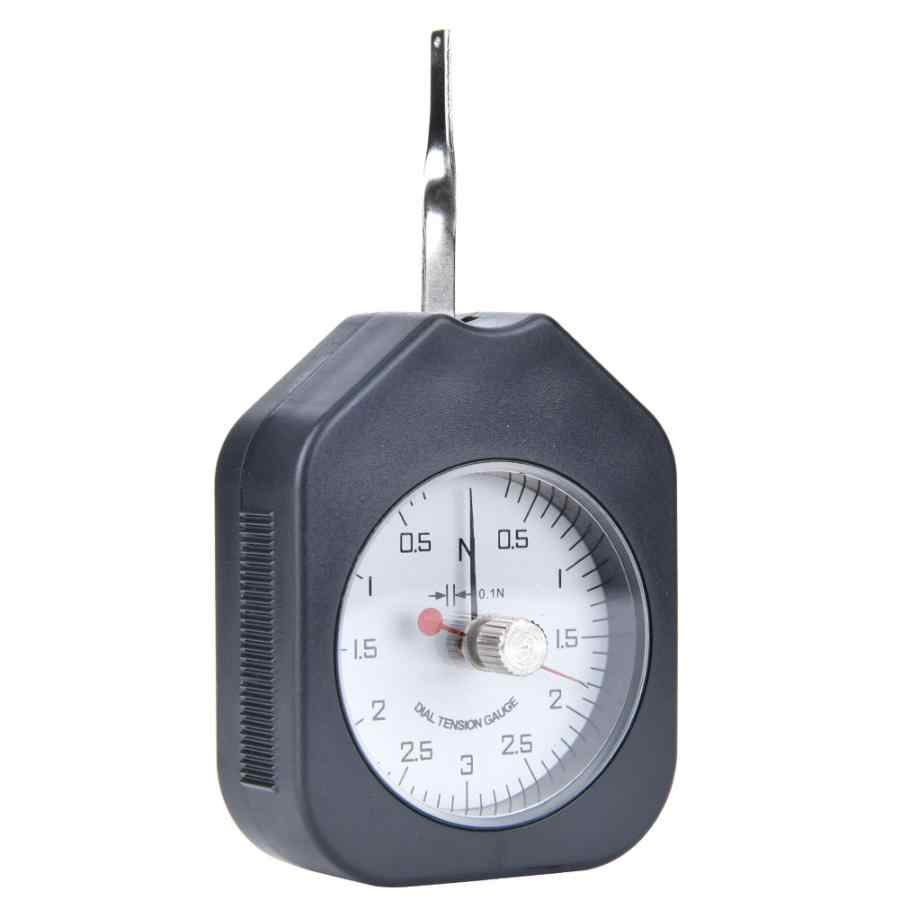 Plastik Tipe Penunjuk Double Jarum Tension Meter Analog Dial Gauge Alat Ukur Terus Menerus Listrik Tekanan