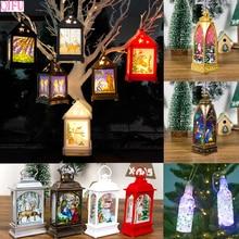 QIFU Christmas Ornaments Merry Decorations For Home 2019 Navidad Noel Xmas Tree Ornament Decor New year 2020