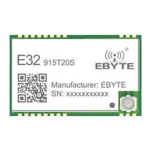 E32-915T20S SMD 915MHZ SX1276 Wireless Module LoRa Long Range Transceiver e32 t51v e32 t54v photoelectric switch