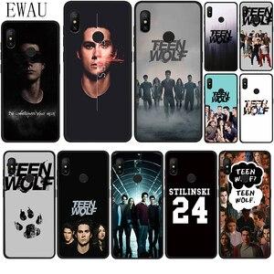 EWAU Teen Wolf Stilinski Silicone phone case for Xiaomi Redmi Note 4 4X 5 6 7 8 Pro 5A prime