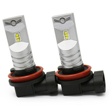цена на 2Pcs H8 H11 Led HB4 9006 HB3 9005 Fog Lights Bulb 6000LM 6000K White Car Driving Daytime Running Lamp Auto Leds Light 12V 24V