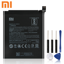Xiao Mi Xiaomi BN43 Phone Battery For Xiao mi Redmi Note4X Hongmi Note 4X Standard Version Redrice BN43 4000mAh Original +Tool xiao mi xiaomi mi bm21 phone battery for xiao mi redmi note mi note note 5 7 redrice note bm21 2900mah original battery tool