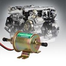 цена на 12V Universal Gas Diesel Inline Low Pressure Car Electric Fuel Pump Oil for Diesel&Petrol Engines PRECISION AUTO LABS Fuel Pump